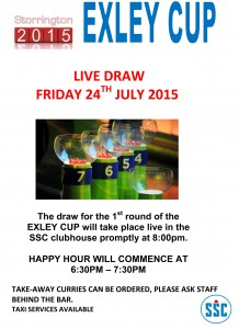 LIVE DRAW ON 24TH JULY 2015